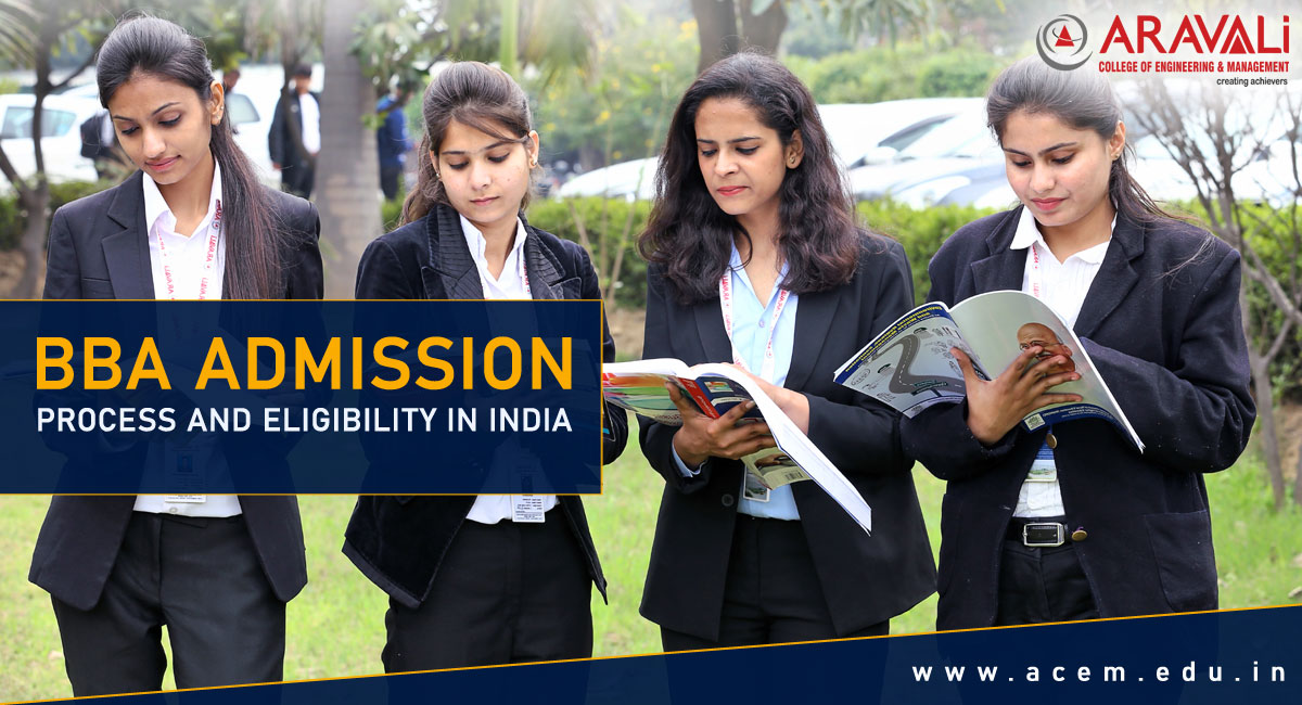 BBA ADMISSION PROCESS AND ELIGIBILITY IN INDIA